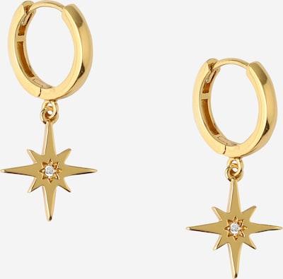 Orelia Ohrringe 'STARBURST CHARM' in gold, Produktansicht