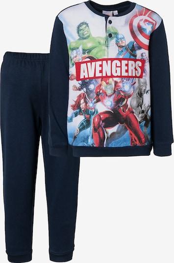 Marvel Avengers Schlafanzug in kobaltblau / mischfarben, Produktansicht