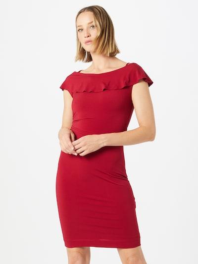 SWING Puzdrové šaty - vínovo červená, Model/-ka