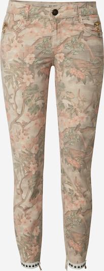 MOS MOSH Hose 'Sumner Rio Pant' in hellgrün / mischfarben / rosé, Produktansicht
