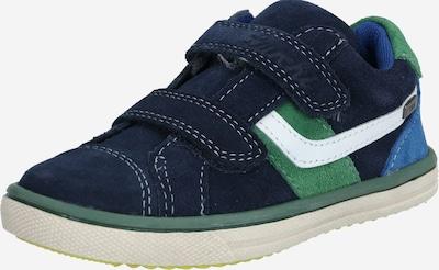 LURCHI Sneakers 'MINO-TEX' in de kleur Navy / Groen, Productweergave