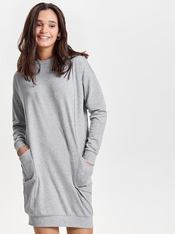ONLY Oversize Kleid mit langen Ärmeln