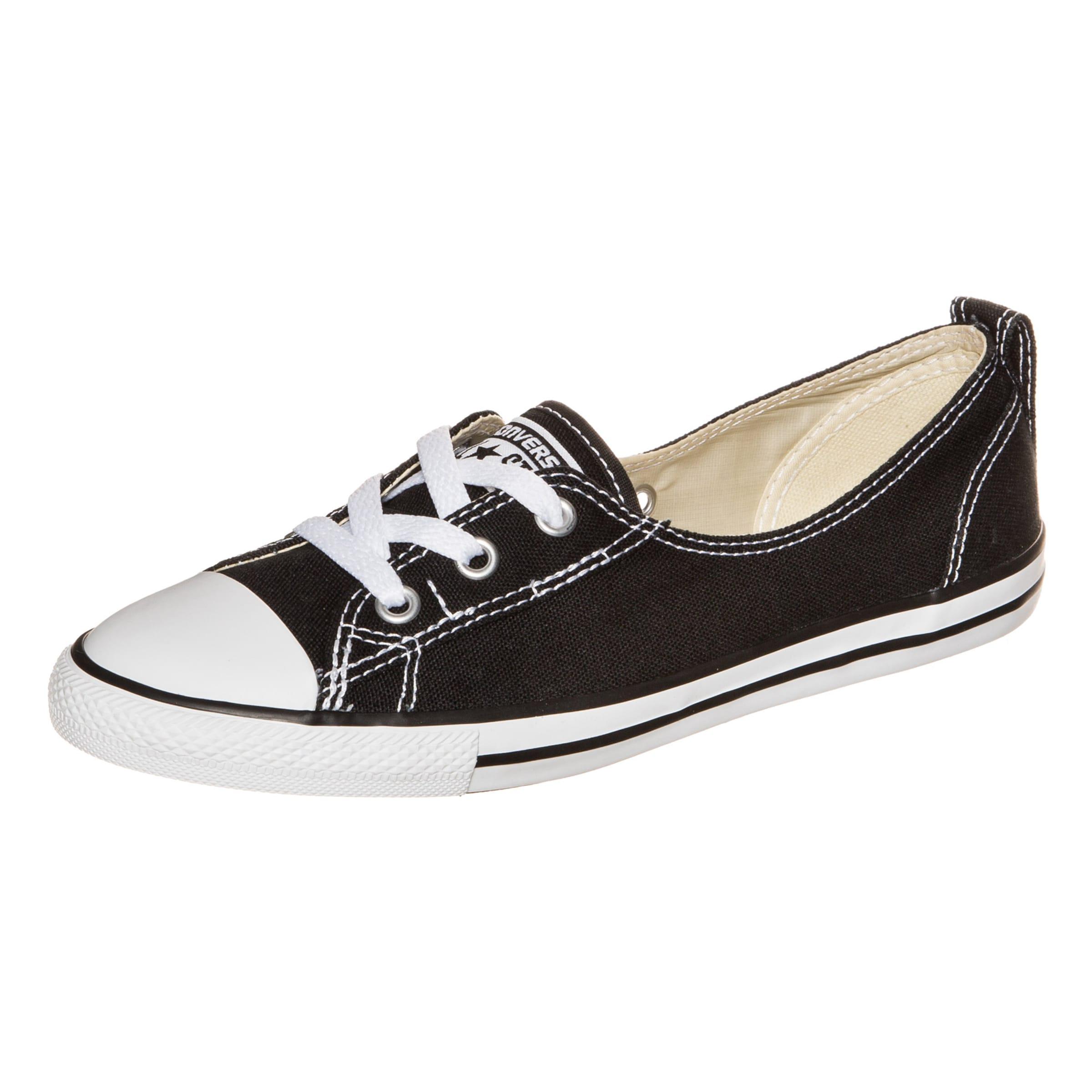Chuck Ballet In Schwarz Taylor Sneaker Converse All Lace Star xBCeodr