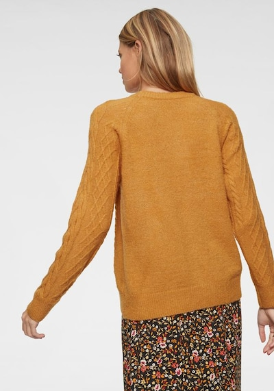 Aniston CASUAL Pullover in senf, Produktansicht