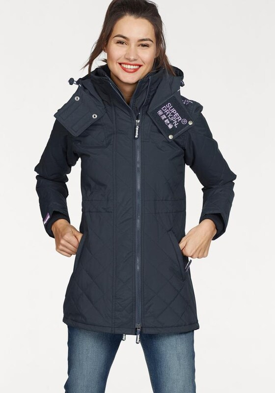 Superdry Outdoorjacke 'TECNICAL QUILTED WIND PARKA'