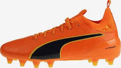 PUMA Fußballschuh 'EvoTouch 1 Fg' in senf / orange / schwarz, Produktansicht