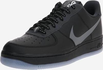 Nike Sportswear Zemie apavi 'Air Force 1 '07 LV8' pieejami antracīta / sudrabpelēks / melns, Preces skats