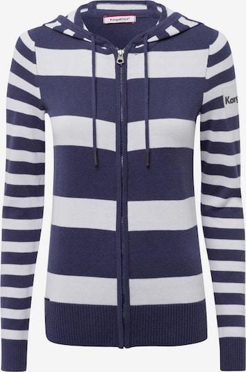KangaROOS Strickjacke in navy / weiß, Produktansicht