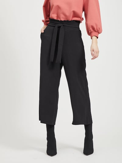 VILA Hose 'VIRASHA' in schwarz, Modelansicht