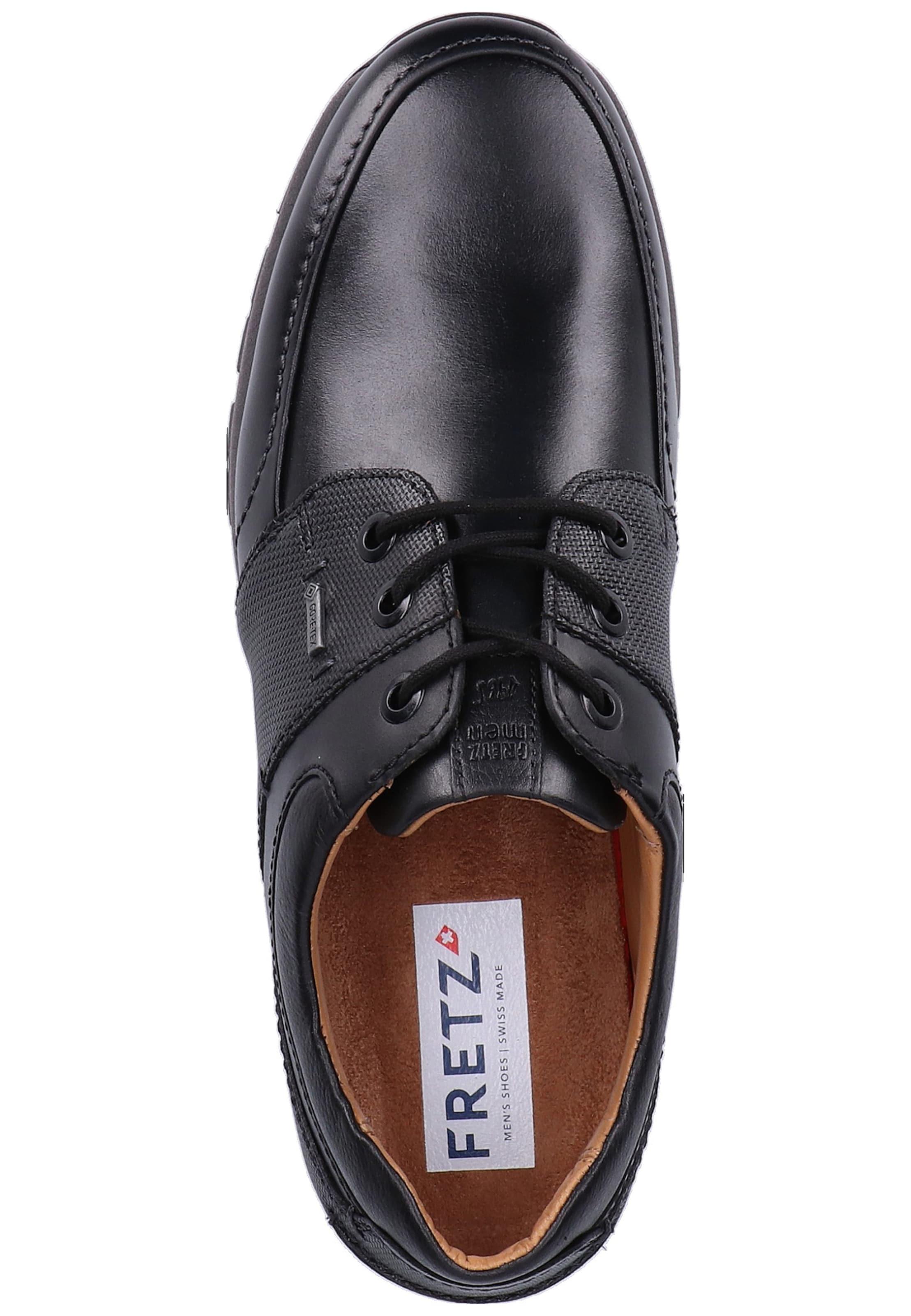 En Fretz Lacets Noir Men Chaussure À vN8wmn0