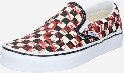 VANS Slip on boty - červená / černá / bílá, Produkt