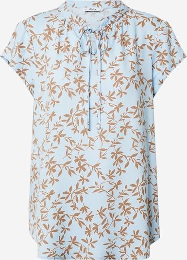 ONLY Shirt 'Alma' in beige / hellblau, Produktansicht
