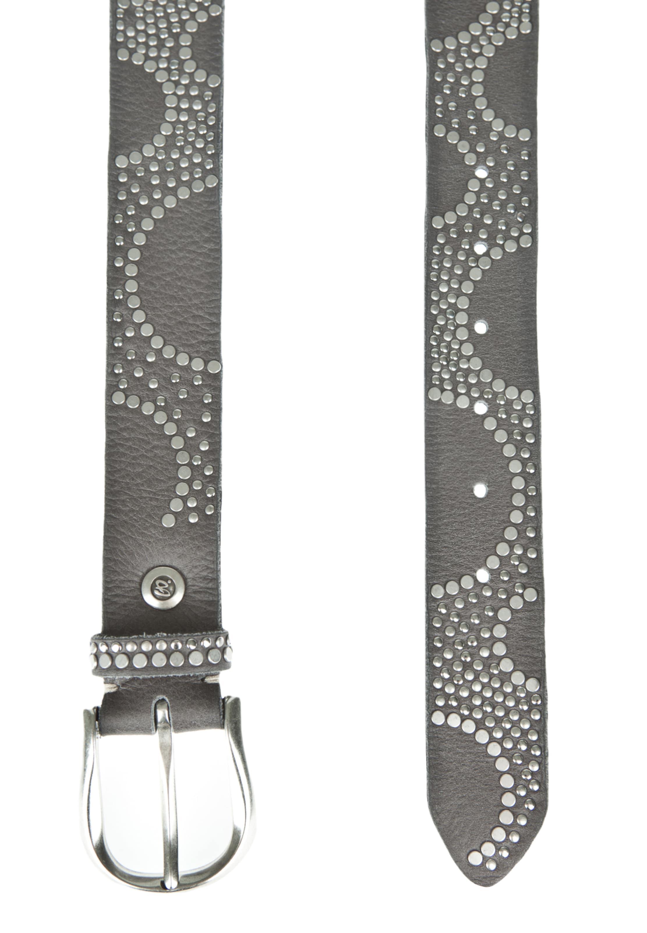 b.belt Handmade in Germany Ledergürtel mit aufwändigem Nietenbesatz Nagelneu Unisex Zum Verkauf eXu3vN