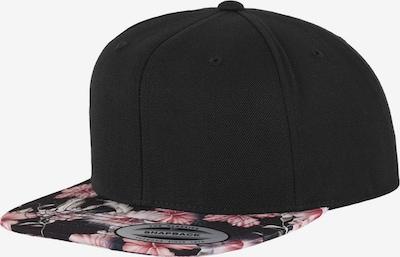 Cappello da baseball Flexfit di colore rosa / nero, Visualizzazione prodotti