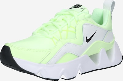 Sportbačiai be auliuko 'RYZ 365' iš Nike Sportswear , spalva - šviesiai pilka / šviesiai žalia / balta, Prekių apžvalga