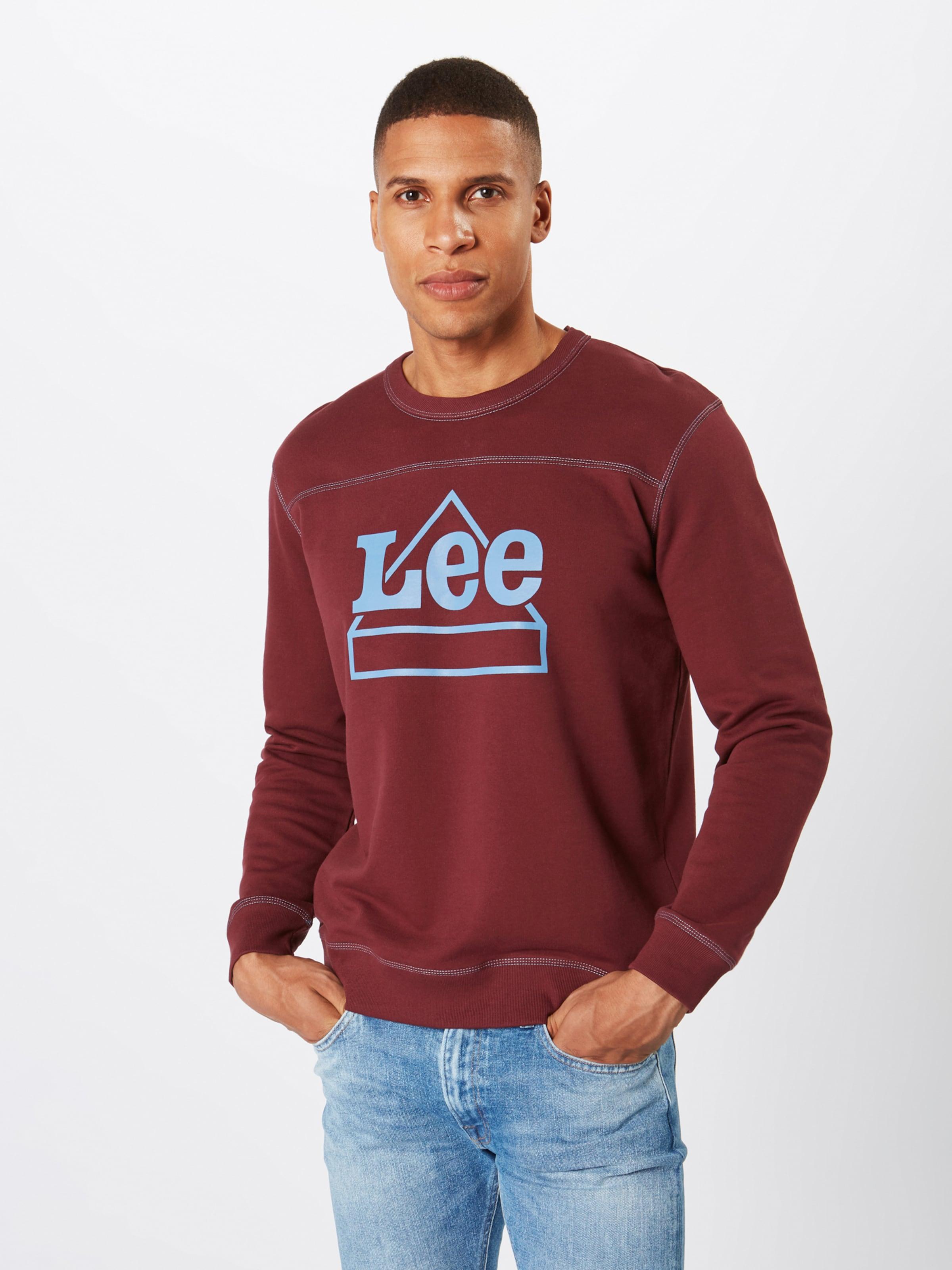 ClairMerlot Sws' shirt En Lee Sweat Bleu 'graphic 76vgfIbyY