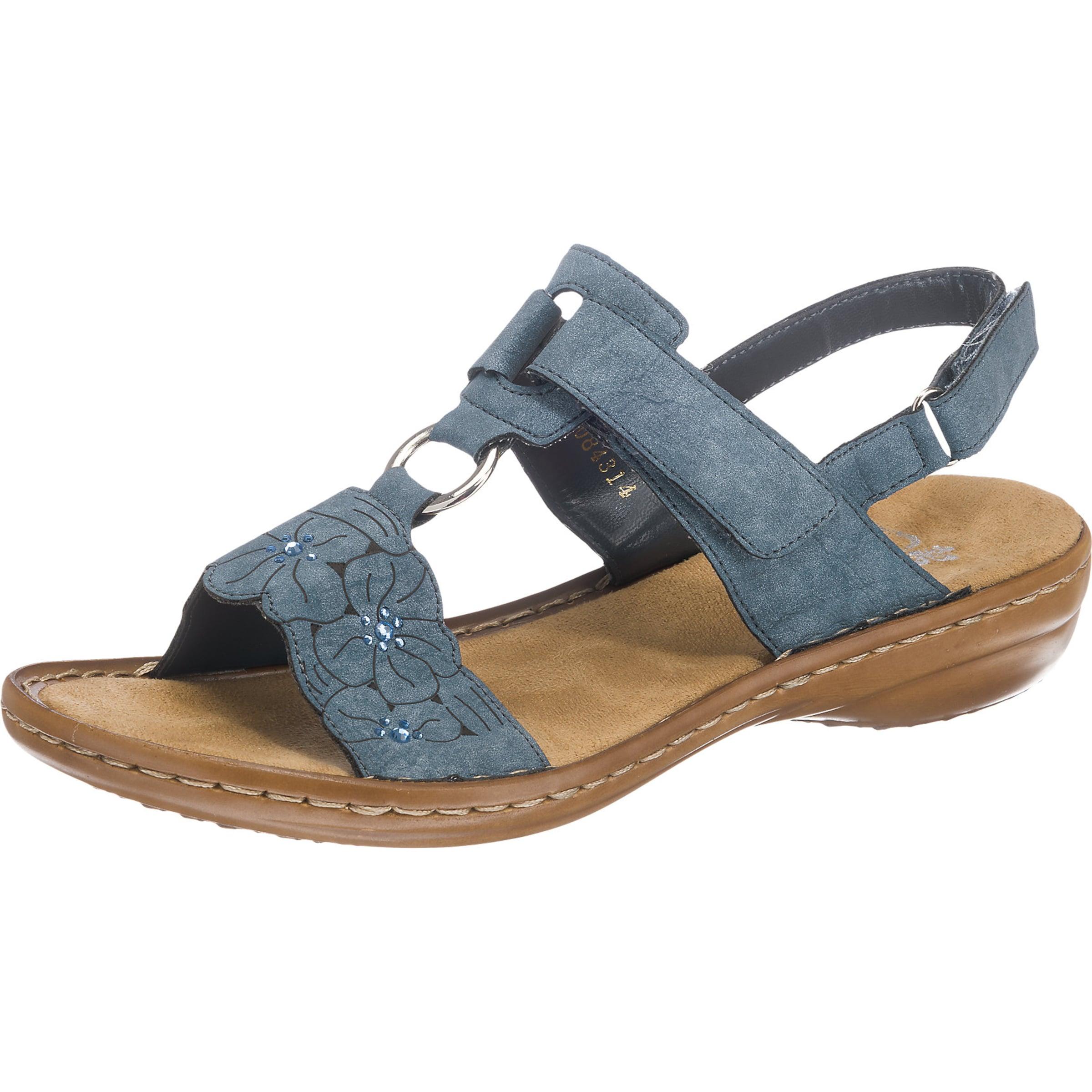 RIEKER Riemchensandale Verschleißfeste billige Schuhe Hohe Qualität