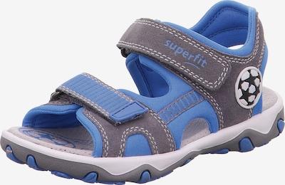 kék / sötétszürke SUPERFIT Nyitott cipők 'Mike', Termék nézet