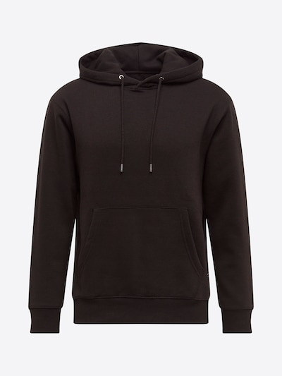 JACK & JONES Sweat-shirt 'SOFT' en noir: Vue de face
