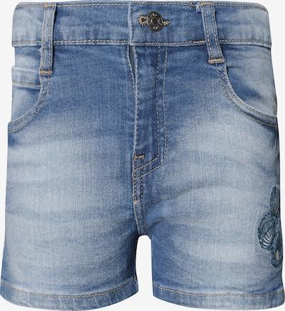 BLUE SEVEN Jeansshorts in blau: Frontalansicht