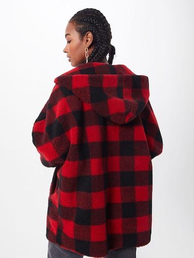 Demisezoninė striukė iš Urban Classics , spalva - raudona / juoda: Vaizdas iš galinės pusės