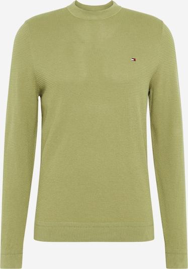 TOMMY HILFIGER Pullover in oliv, Produktansicht