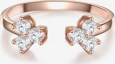 Glanzstücke München Ring in rosegold / transparent, Produktansicht