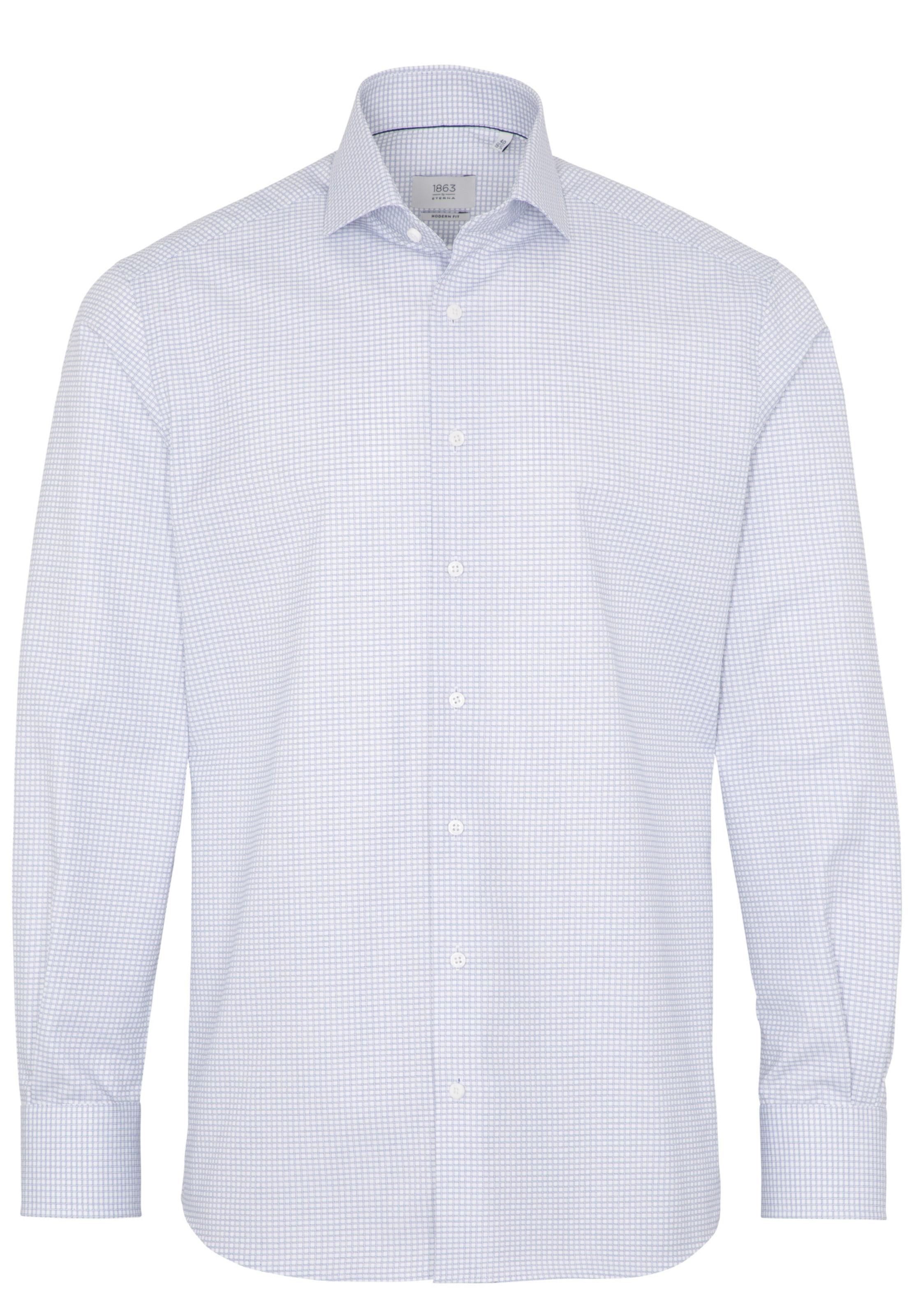 BlauWeiß Eterna In Hemd Hemd Eterna jUpLzGSVqM