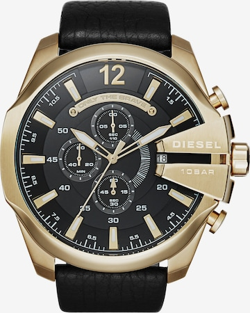 DIESEL Chronograph 'MEGA CHIEF' in Gold