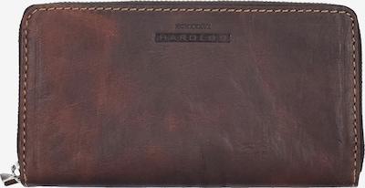 Harold's Geldbörse 'Saddle' in braun, Produktansicht