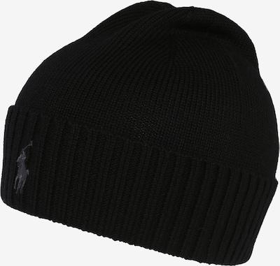 POLO RALPH LAUREN Mütze 'MERINO' in schwarz, Produktansicht