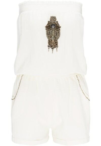 DREIMASTER Jumpsuit in de kleur Wit, Productweergave