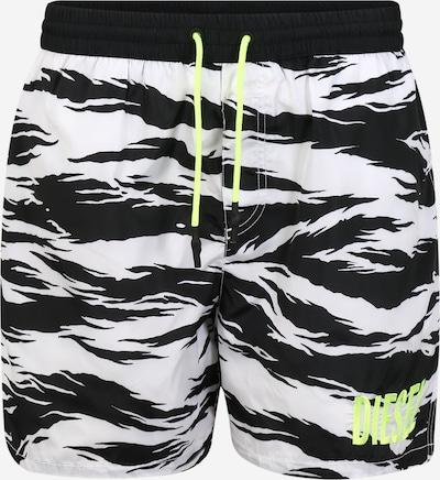 DIESEL Kąpielówki 'BMBX-WAVE 2.017 ' w kolorze czarny / białym, Podgląd produktu