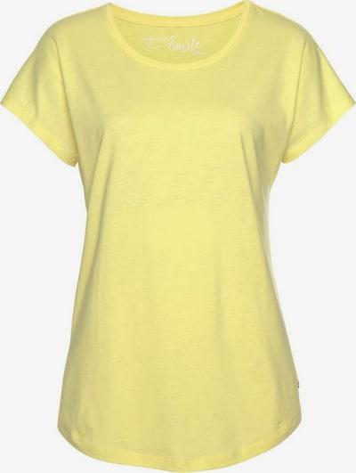 s.Oliver T-shirt en jaune clair, Vue avec produit