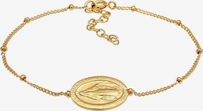 ELLI Armband 'Marienbild Münze' in gold, Produktansicht