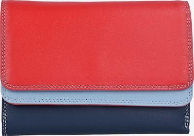mywalit Geldbörse in hellblau / dunkelblau / rot, Produktansicht