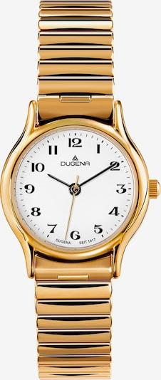 DUGENA Uhr in gold / weiß, Produktansicht