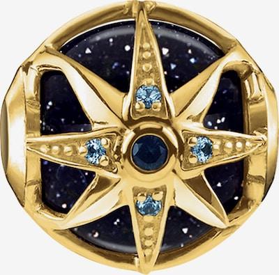 Thomas Sabo Charm 'Bead' in blau / dunkelblau / gold, Produktansicht