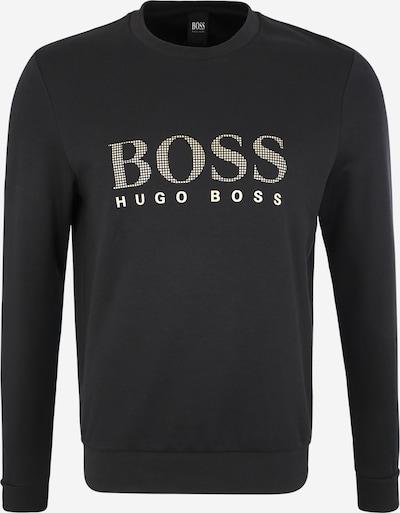 BOSS Sweat-shirt en noir, Vue avec produit