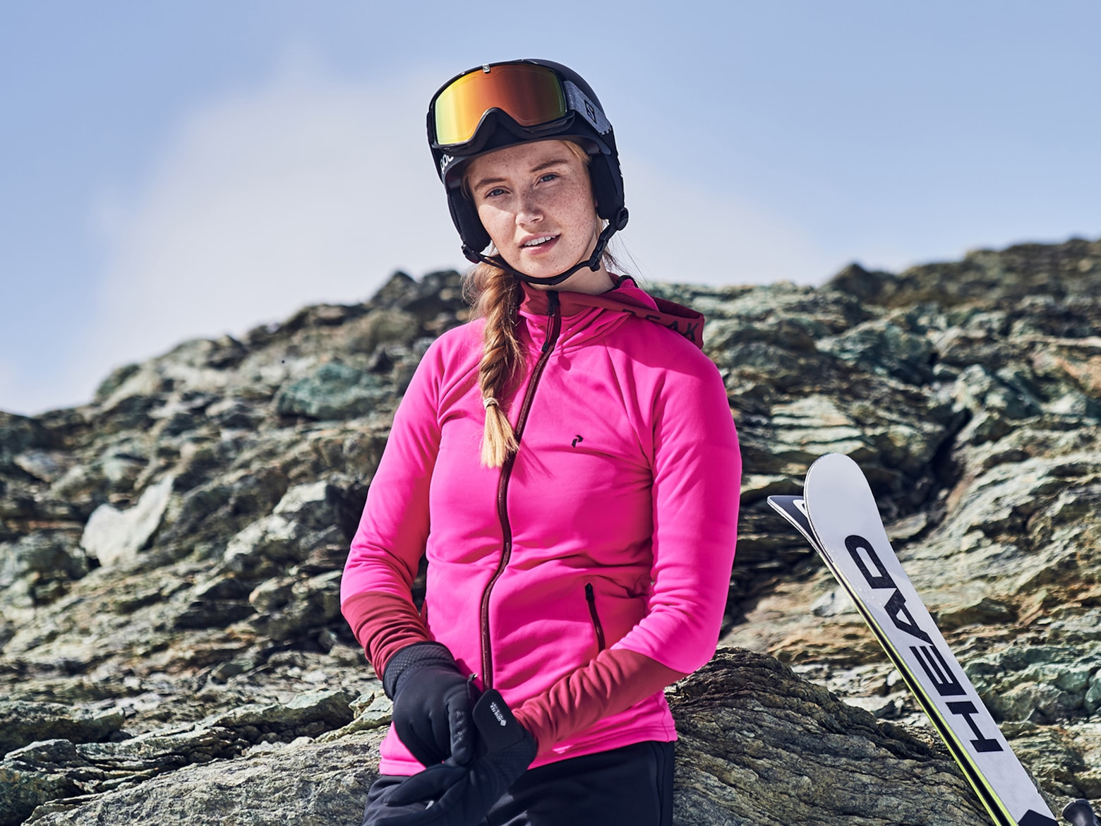 Ski Guide Mid-Layer Fleece