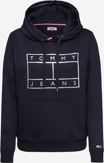 Tommy Jeans Sweatshirt in nachtblau / silber, Produktansicht