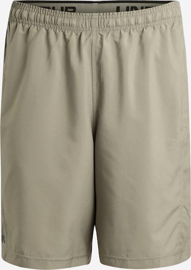 Sportinės kelnės 'Woven' iš UNDER ARMOUR , spalva - kremo / juoda, Prekių apžvalga