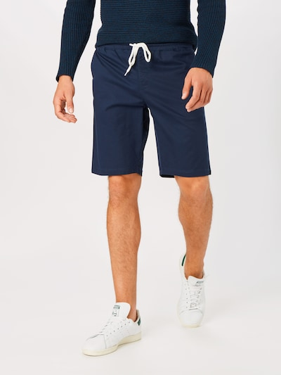 Champion Authentic Athletic Apparel Püksid 'Cargo Bermuda' tumesinine / segavärvid, Modellivaade