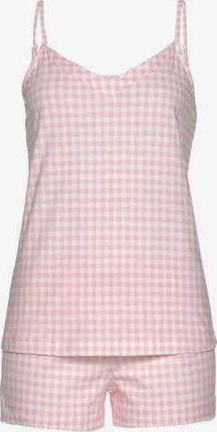 VIVANCE Schlafanzug in Pink