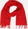 Tommy Jeans Schal 'TJW FLAG LOGO SCARF' in rot