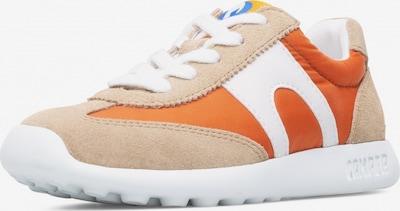 CAMPER Sneakers 'Driftie' in de kleur Lichtbeige / Donkeroranje / Wit, Productweergave