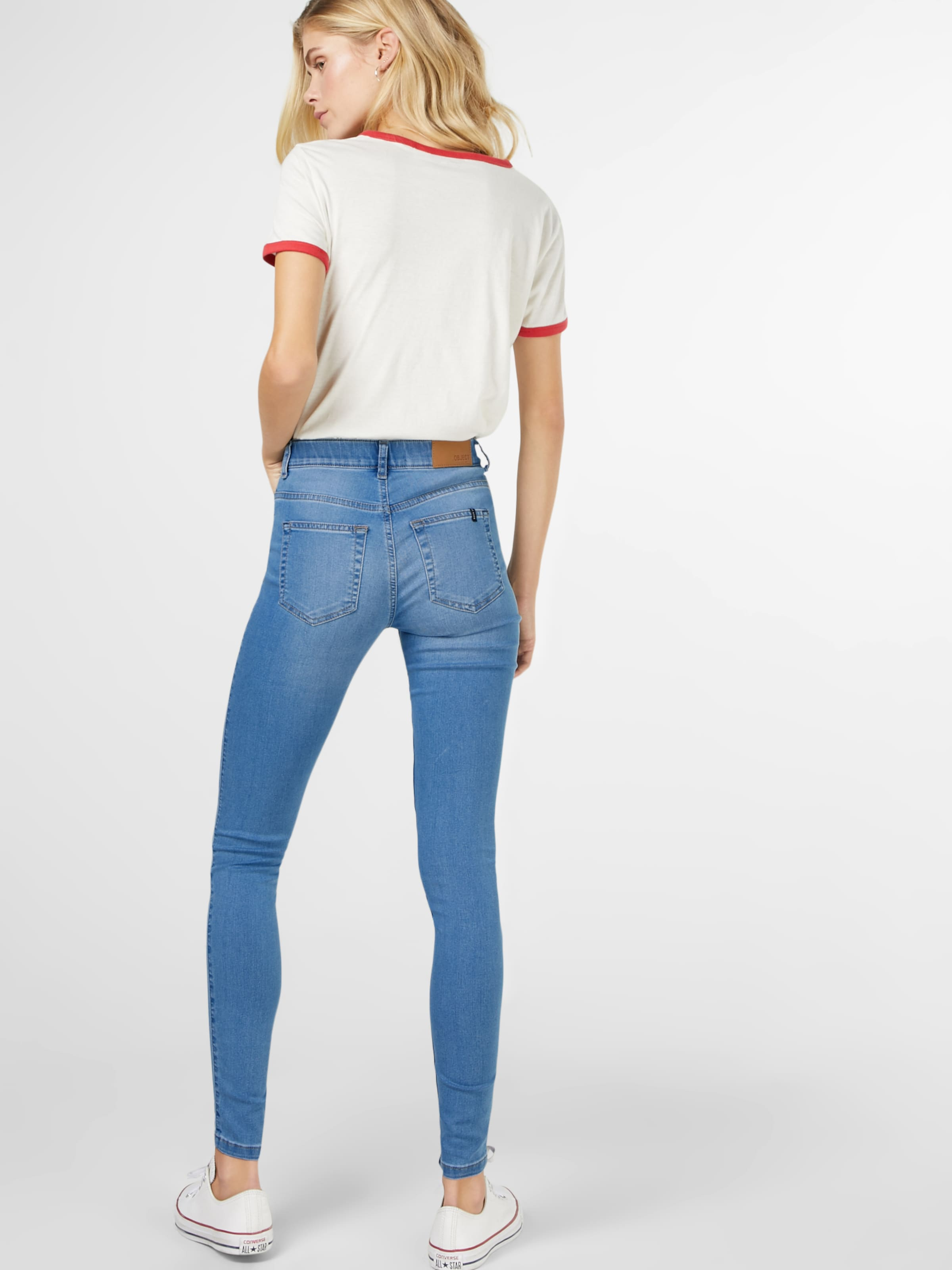 Jeggings Blauw In Object 'sophie' Denim F1c3KTlJ