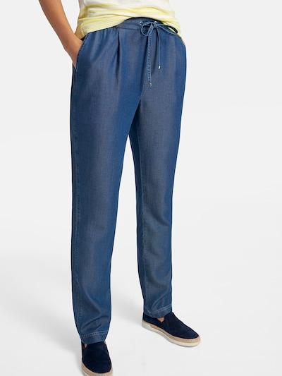 Basler Joggpants in blue denim, Modelansicht