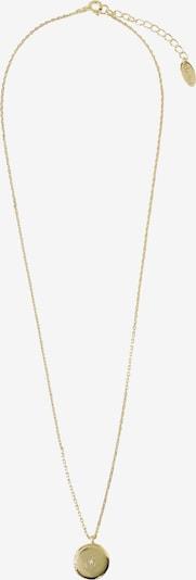 Orelia Chaîne 'Mini Locket Short Necklace' en or, Vue avec produit