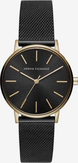 ARMANI EXCHANGE Quarzuhr 'AX5548' in gold / schwarz, Produktansicht